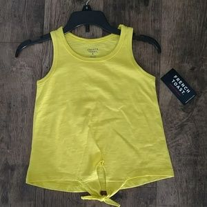💛Last one! NWT Girls size 6 yellow tank top